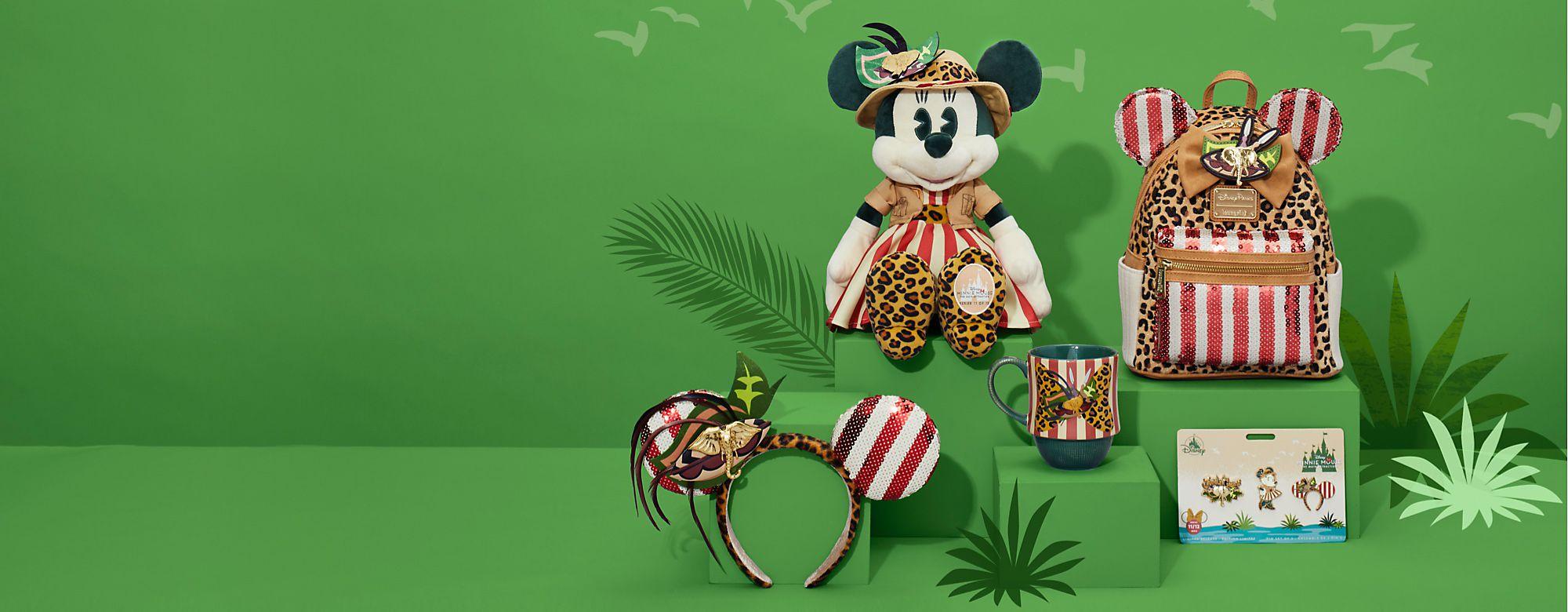 Minnie Mouse The Main Attraction En route pour l'aventure avec la série 11 Disponible le 18 novembre EN SAVOIR PLUS