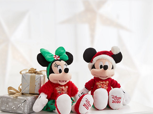 Mickey & Minnie Medium Soft Toy Now £12.50 Each When you spend £10 or more SHOP NOW