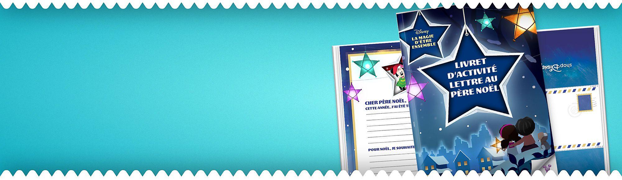 Écrivez une lettre au père Noël en famille La lettre au père Noël est une tradition lors de la saison des fêtes. Cette année, toute la famille participe ! Téléchargez le livret, personnalisez les lettres des enfants et laissez-les pour le père Noël quand il viendra déposer les cadeaux.