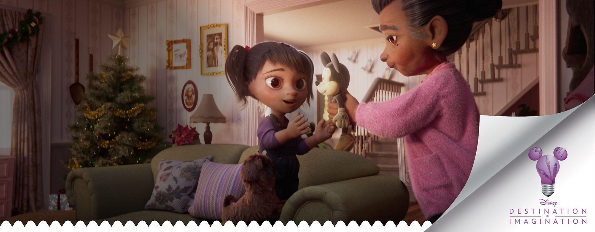 Meilleurs vœux de notre famille Fondez pour la nouvelle publicité Disney pour Noël
