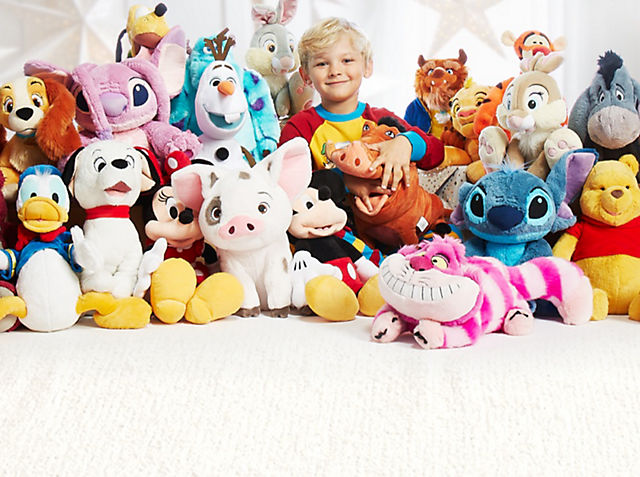 Medium soft toys now £12.50  SHOP NOW