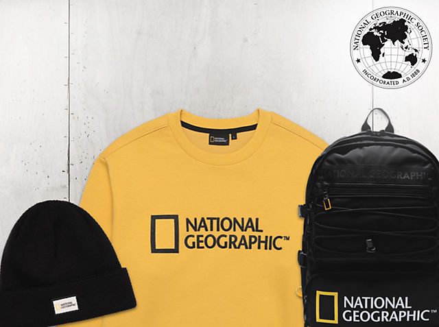 Expedition Essentials Get set for adventure with all-new National Geographic merchandise COMING SOON