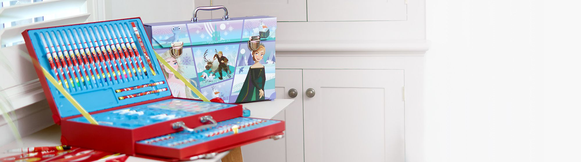 Stationery Discover our range of Disney stationery including notebooks, writing sets and much more.