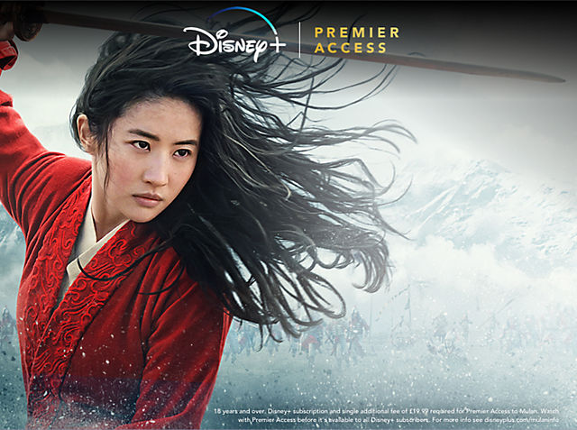 Mulan Be the first to stream Mulan.