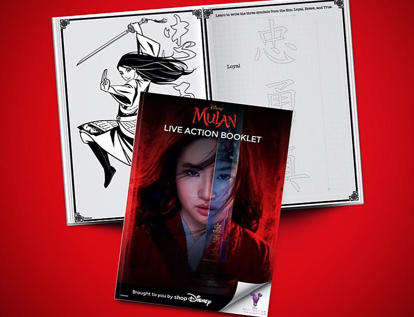 Disney's Mulan - Live Action Booklet