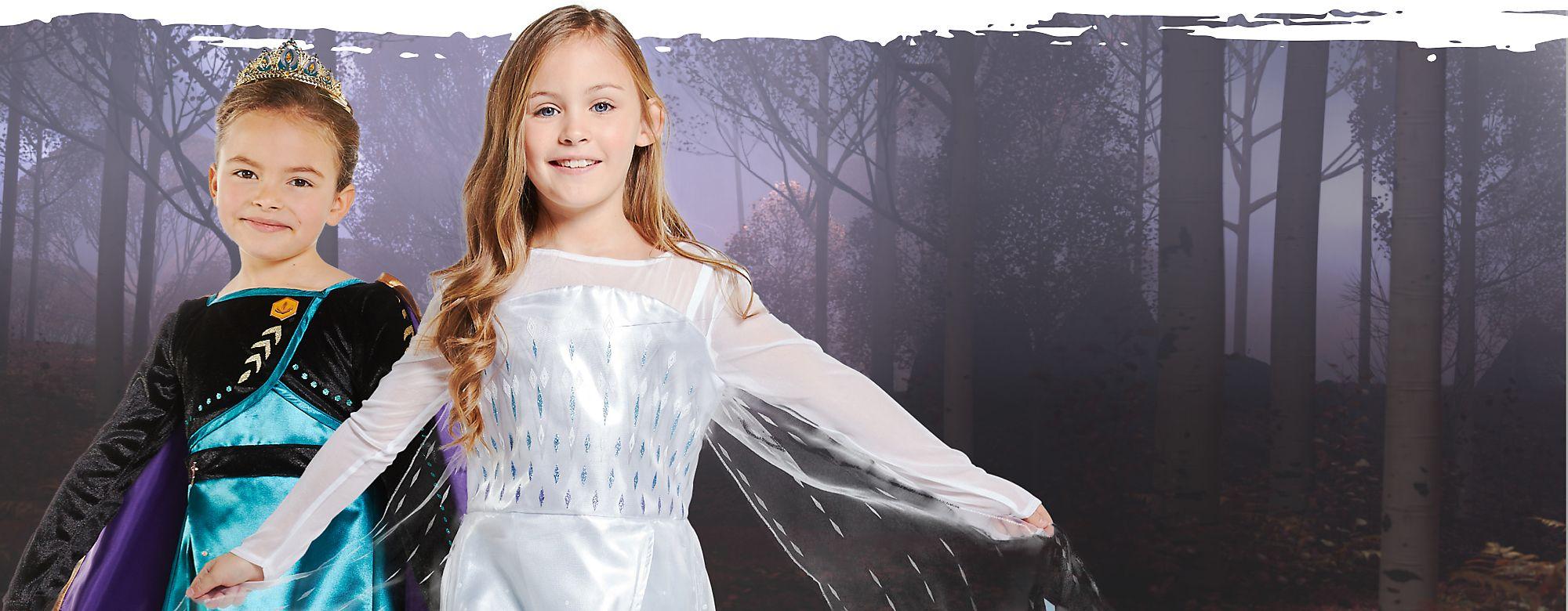 La colección más guay de disfraces Con estos disfraces, las pequeñas princesitas podrán adentrarse en un bosque de diversión