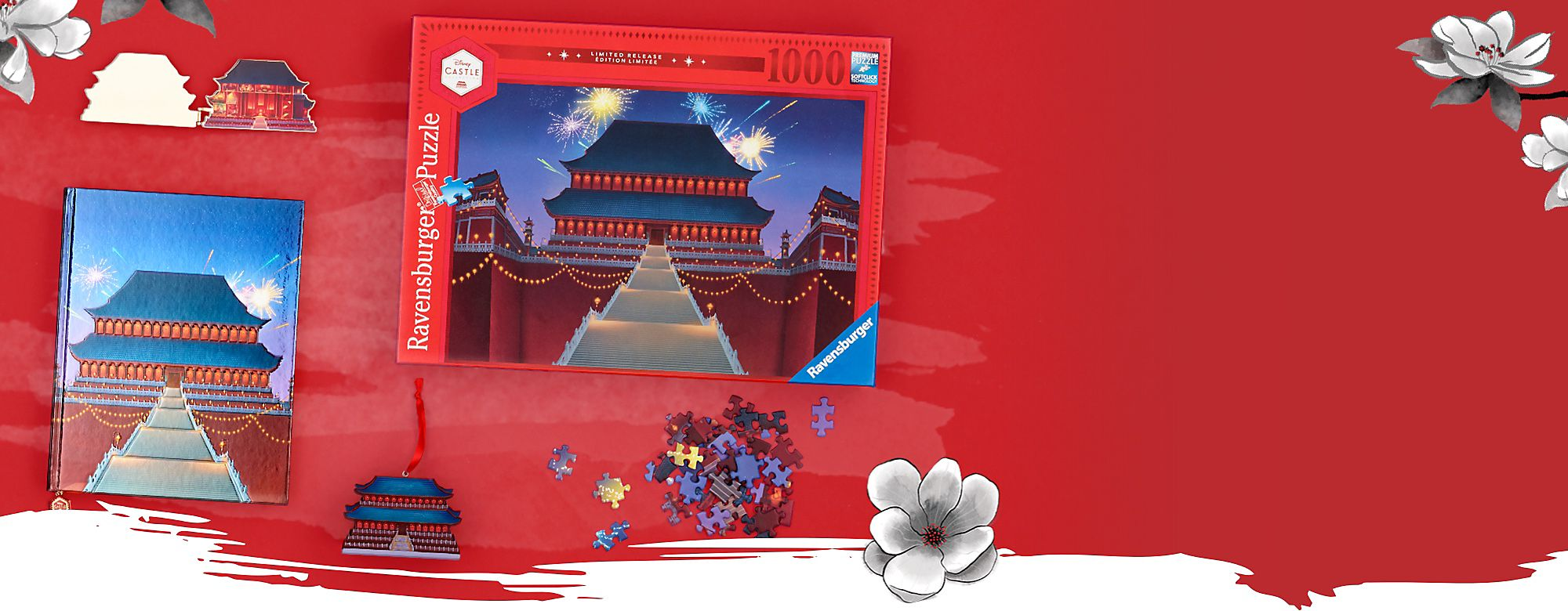 Bring Home Honour This series features a palace ornament, a light-up figurine, a puzzle, a pin and a journal SHOP NOW