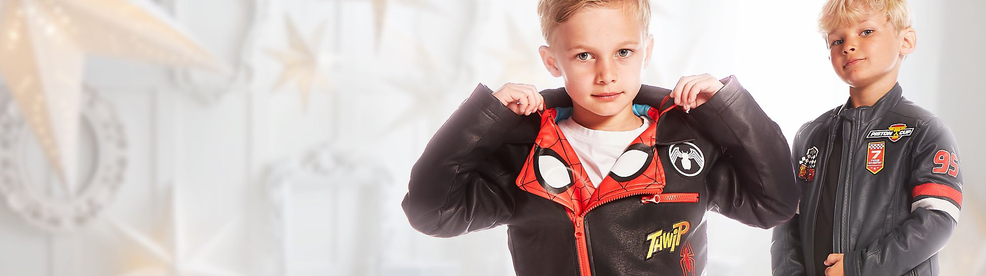 Boys Clothing Be on trend with our range of boys clothing including t-shirts, jumpers, pyjamas and more