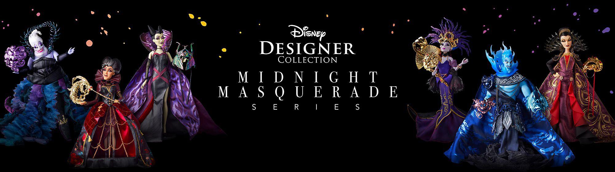 Disney Designer Collection Les personnages Disney Villains débarquent dans la gamme Midnight Masquerade. EN SAVOIR PLUS