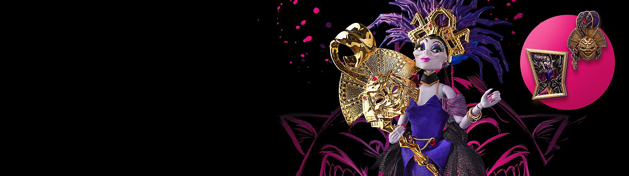 Limited Edition Discover our magical range of limited edition products, including art, figurines, pins and more Yzma | Releases 27th October | Limited to 1,000 in Europe