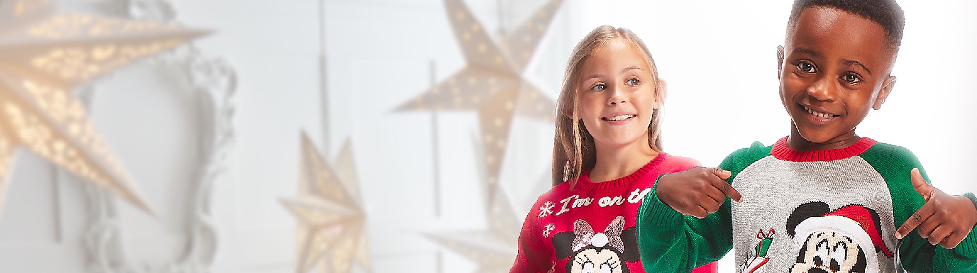 Christmas Fashion They'll feel festive and fancy with our Christmas clothing collections