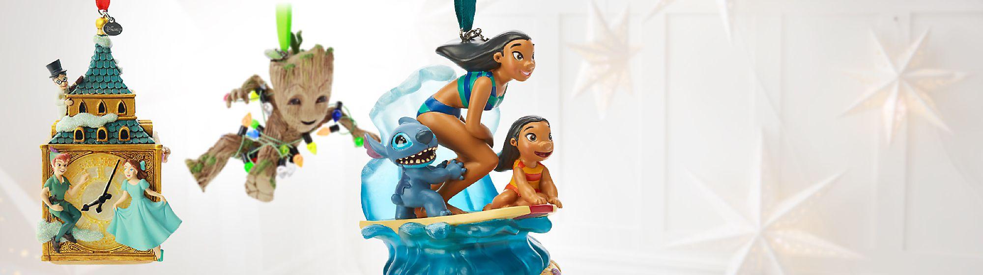Figurines Collector Enrichissez votre collection avec l'une de nos figurines collector à l'effigie des personnages Disney, Pixar, Star Wars ou Marvel.
