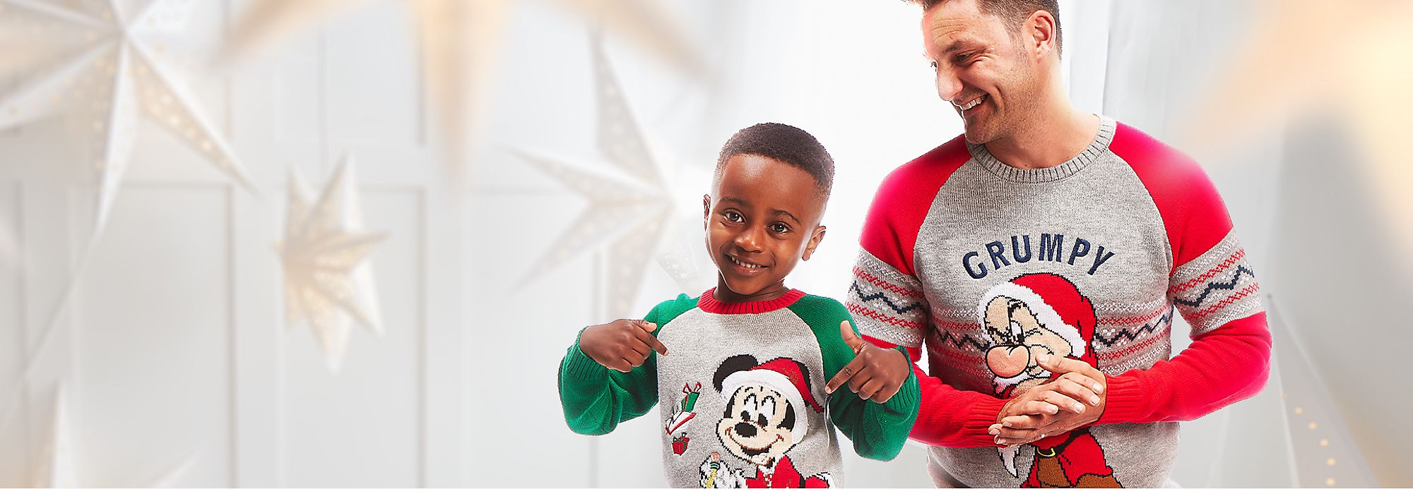 Christmas Fashion They'll feel festive and fancy with our Christmas clothing collections SHOP NOW