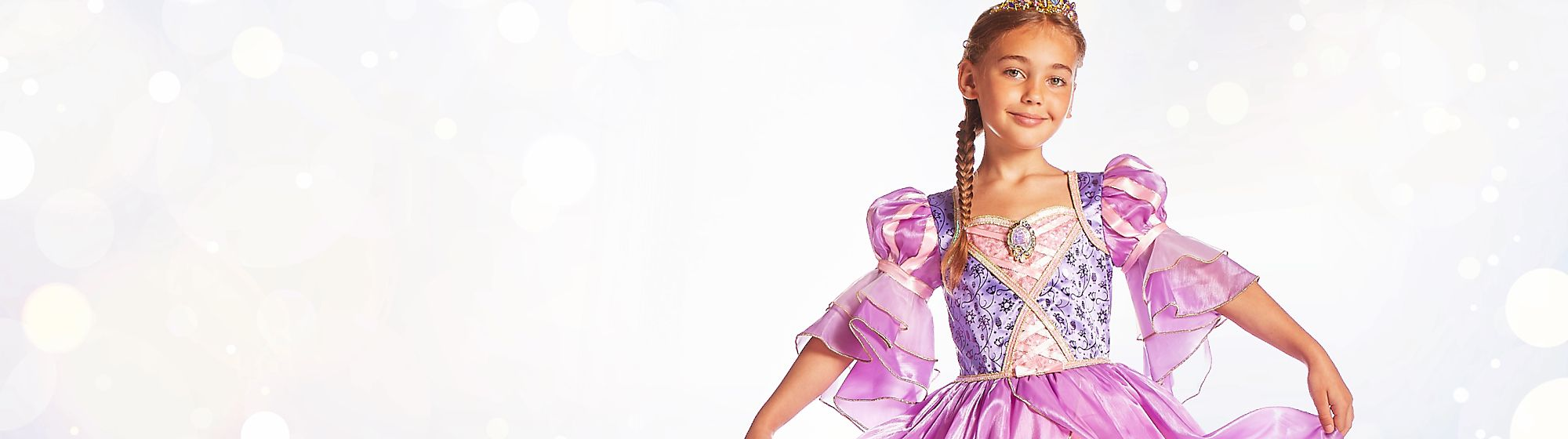 Rapunzel Let Your Hair Down! Celebrating 10 years, we bring you our wonderful Tangled collection