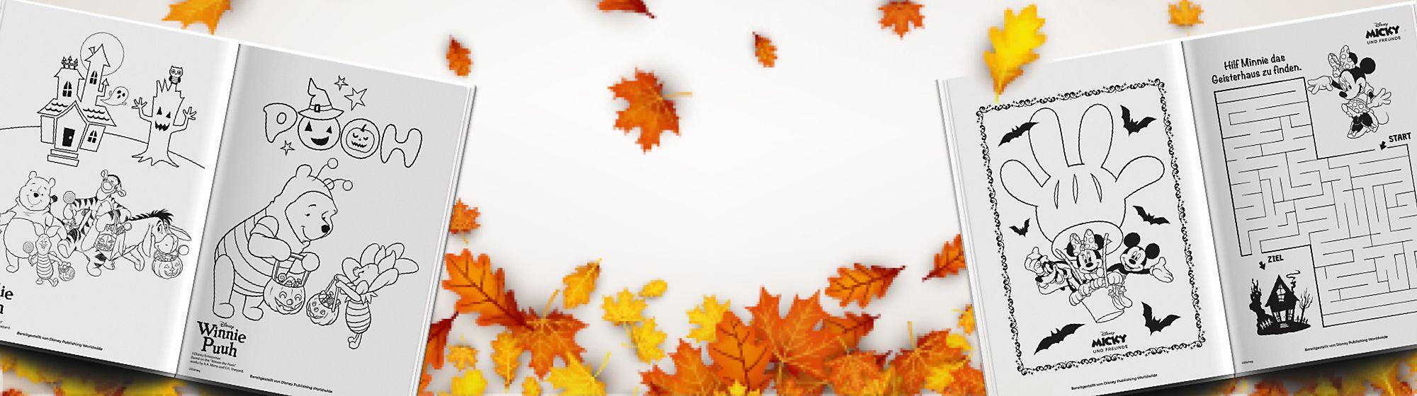 Herbstliche Aktivitäten Erschaffe diesen Oktober Herbstzauber mit der Auswahl an Familienaktivitäten für Zuhause! JETZT ENTDECKEN