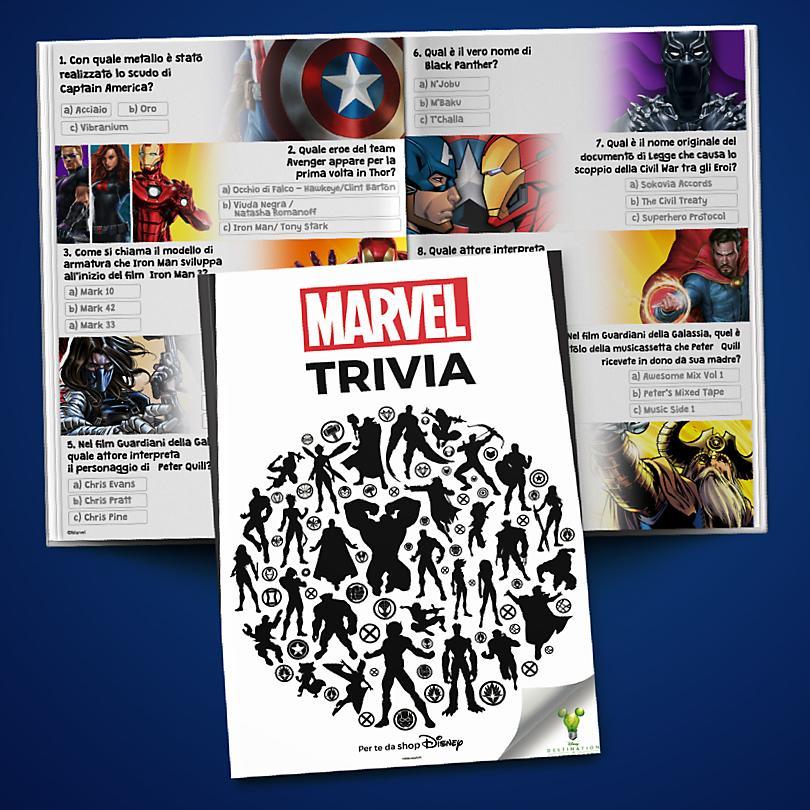 Libretto dei Trivia di Marvel