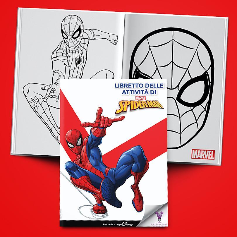Libretto delle Attività di Spider-Man