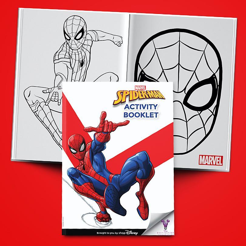 Spider-Man Activity Booklet