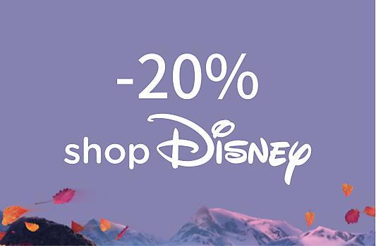Rends-toi sur shopDisney avec ton code de réduction unique et profite d'une remise de 20%.