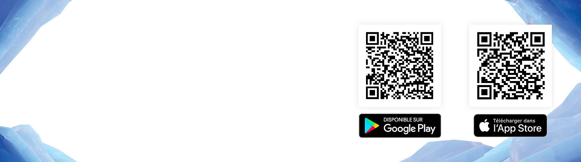 Utilise ton téléphone portable pour scanner le code QR ci-dessous et télécharger l'application Disney Scan.