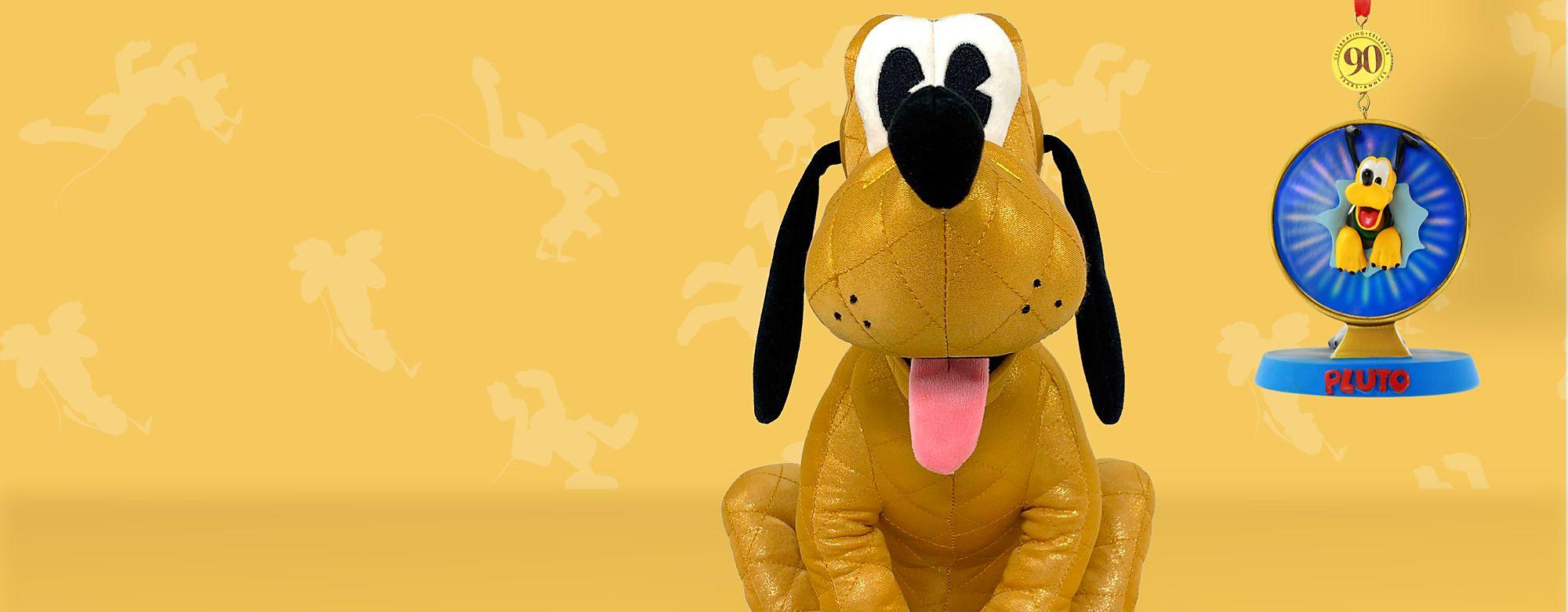 Pluto Scopri la nostra gamma di articoli ispirati a Pluto in occasione del suo 90° compleanno: peluche, articoli da collezione, tazze e tanto altro