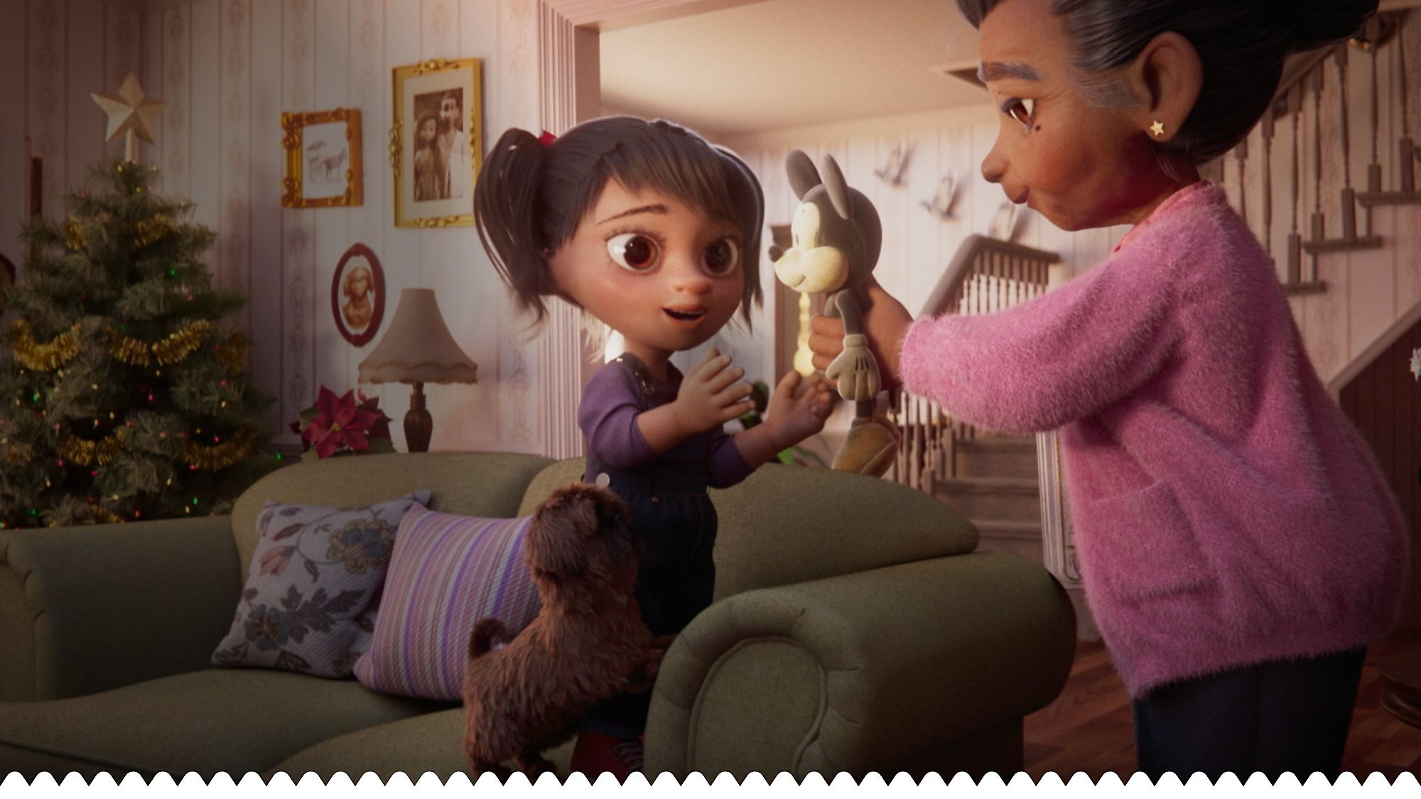 From Our Family To Yours Disney's heart-warming new Christmas advert