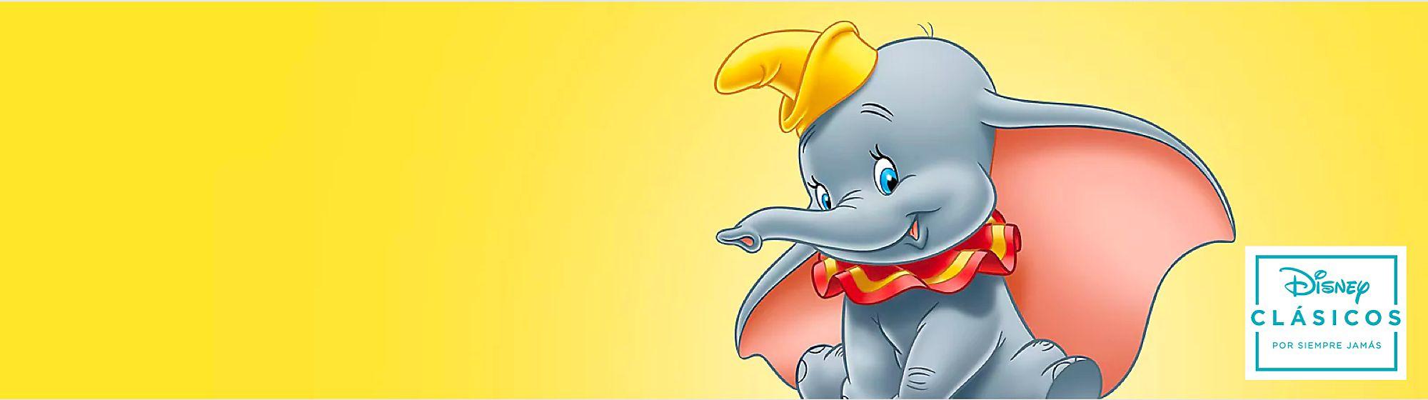 Dumbo Descubre en nuestro catálogo todos los productos de Dumbo, el tierno elefante de Disney, y haz que tu día a día sea mágico.