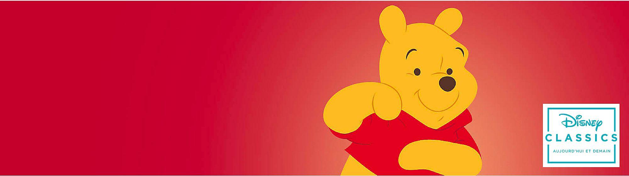 Winnie l'Ourson Tout petit, tout doux, tout rond, retrouvez Winnie l'Ourson ! Avec nos produits à son effigie, il est entouré de ses compagnons !
