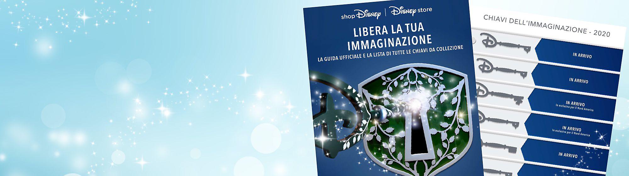 Chiavi Imagination 2020 Libera la magia con le nostre chiavi Imagination. Ispirate alle chiavi Opening Ceremony disponibili nei Disney Store, queste particolari chiavi sono perfette per fan e collezionisti Disney. Controlla quali chiavi sono uscite fino ad ora nella nostra checklist.