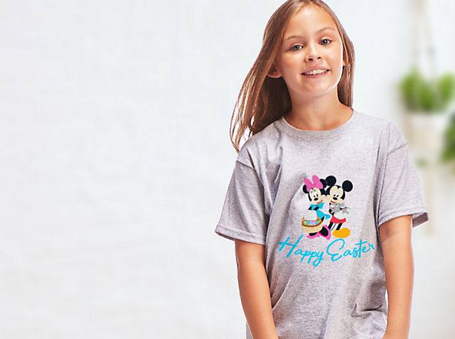 Kids Customised T-Shirts Explore an all-new selection of kids personalisable T-shirts! Pick a print, pick a colour, and leave the magic to us SHOP NOW