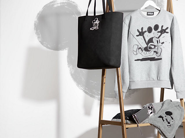 Mickey Greyscale Collection Rock effortless Disney style SHOP ADULT FASHION