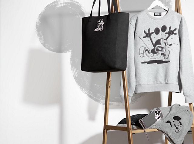 Collezione Grayscale Topolino Sfoggia il tuo stile Disney ACQUISTA MODA ADULTI
