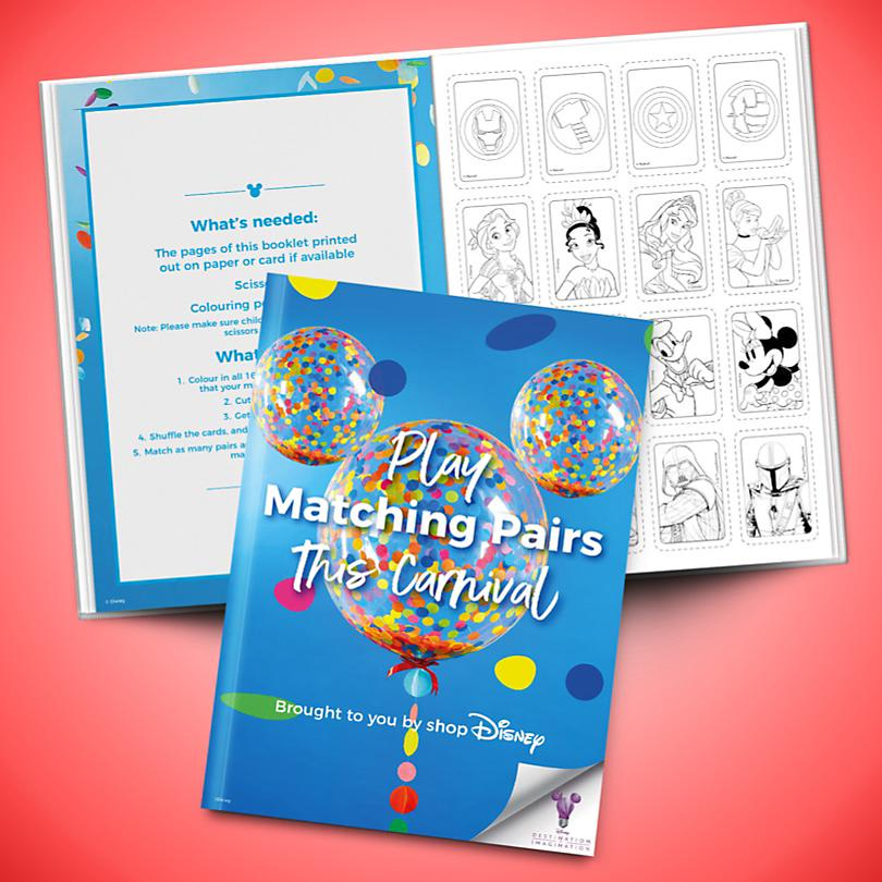 Matching Pairs Booklet