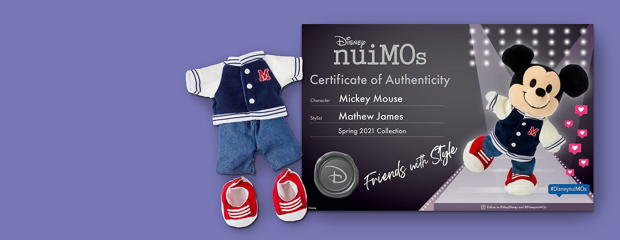 Show Your Own  Big Style Become an official Disney nuiMOs stylist and receive a  FREE certificate of authenticity
