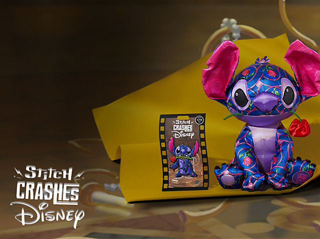 Guess Who's Crashing Classic Disney Movies…Again? Every month, from 18th January, a new pin and soft toy will be released featuring Stitch crashing an iconic Disney movie scene