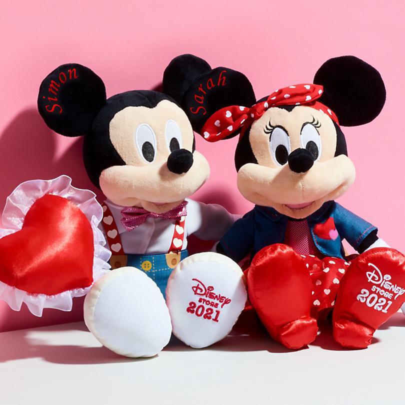 Peluche de Mickey o Minnie por solo 12.90€ (antes 30€) Por compras superiores a 15€  COMPRAR