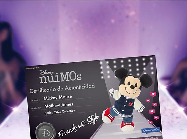 Certificado de autenticación de nuiMOs Crea un certificado para tu nuiMO en tu selección de atuendos