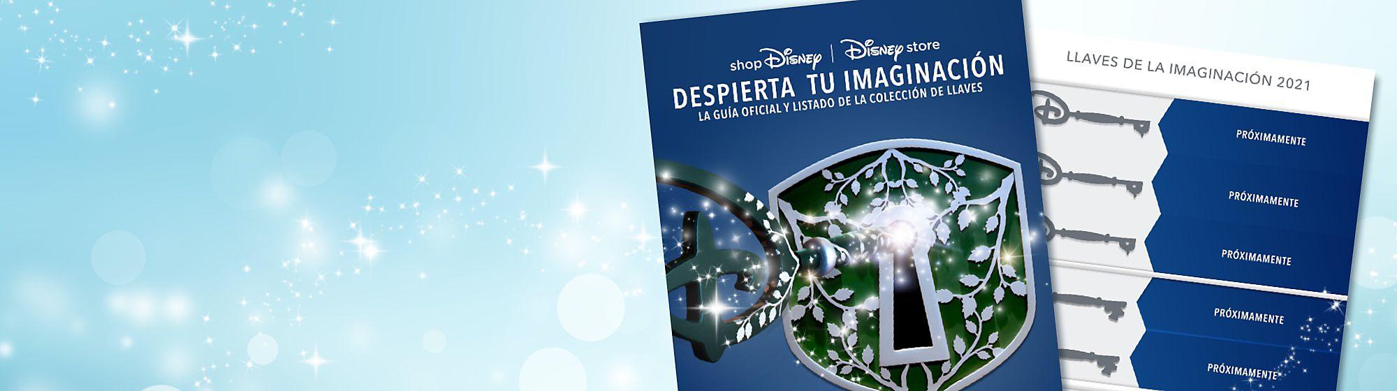 Llaves de la Imaginación Despierta tu imaginación con nuestras llaves, inspiradas en las llaves de la Ceremonia de Apertura disponibles en las tiendas Disney Store. Estas preciosas llaves serán el regalo perfecto para fans y coleccionistas de Disney. Echa un vistazo a nuestro listado y consulta qué llaves se han publicado hasta ahora.