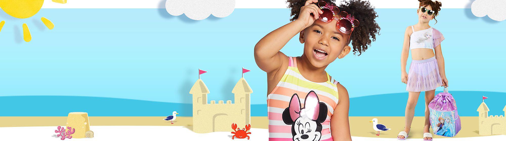 Borse e accessori bambini Una gamma di borse e accessori per portare sempre con sé la magia Disney: zaini, occhiali da sole, cappelli e tanto altro