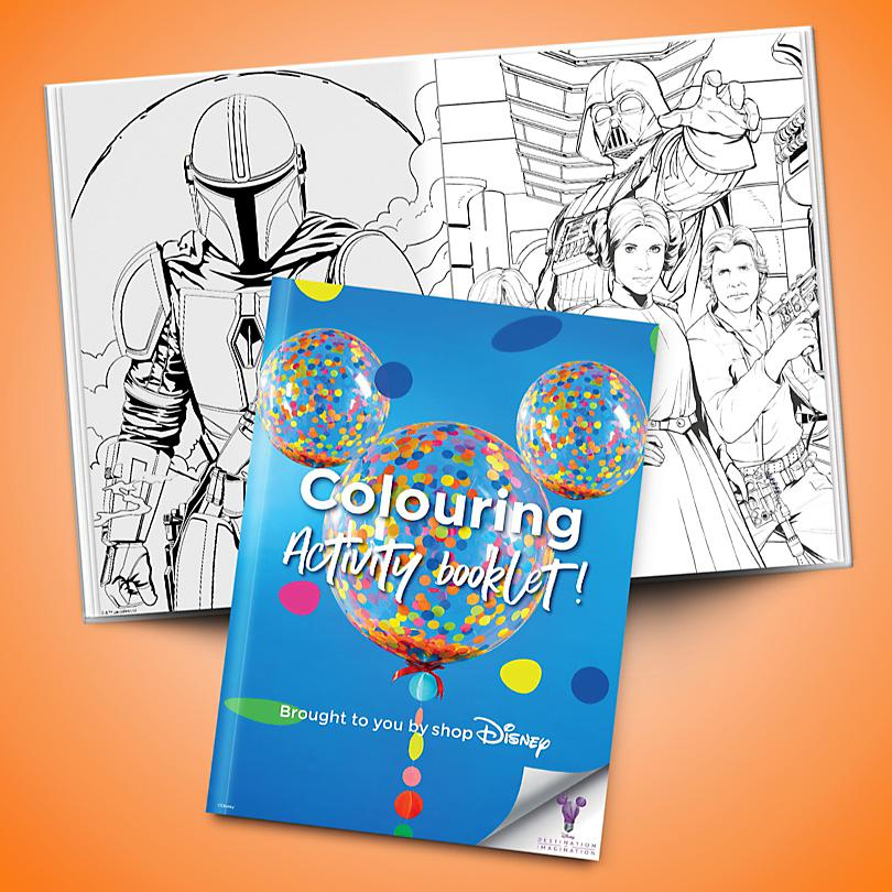 Colouring Activity Booklet