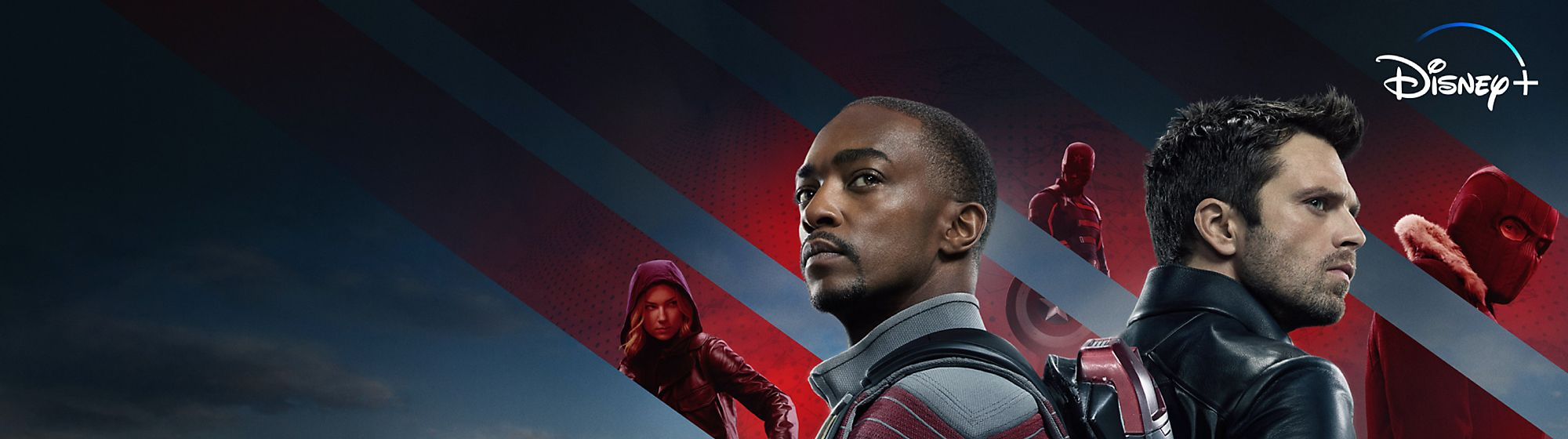 The Falcon and The Winter Soldier The Falcon must learn what it means to carry Captain America's shield, in this unmissable Disney+ Original series.
