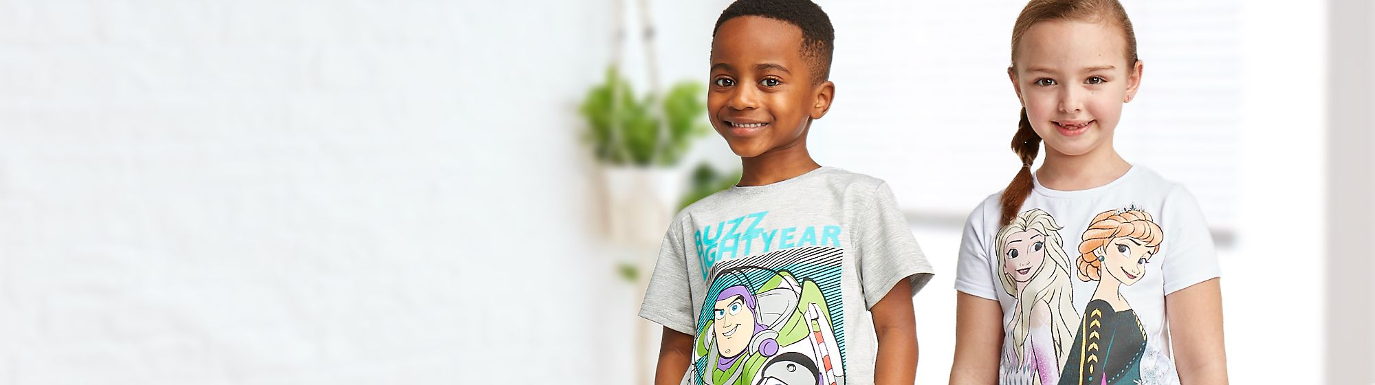 Kids' T-Shirts 1 for £10 | 2 for £16 | 3 for £20 Online Only | Selected lines | While stocks last | Terms and conditions apply