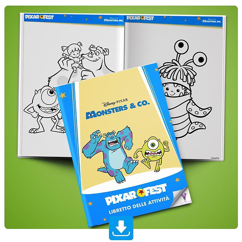 Libretto delle attività di Monsters & Co.