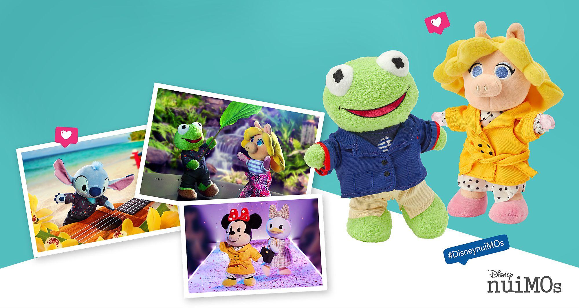 Heiße Kermit und Miss Piggy in der flauschigen Disney nuiMOs Familie willkommen Niemand präsentiert die neueste Modekollektion Nr. 2 so elegant wie diese beiden Stilikonen. DISNEY NUIMOS KAUFEN