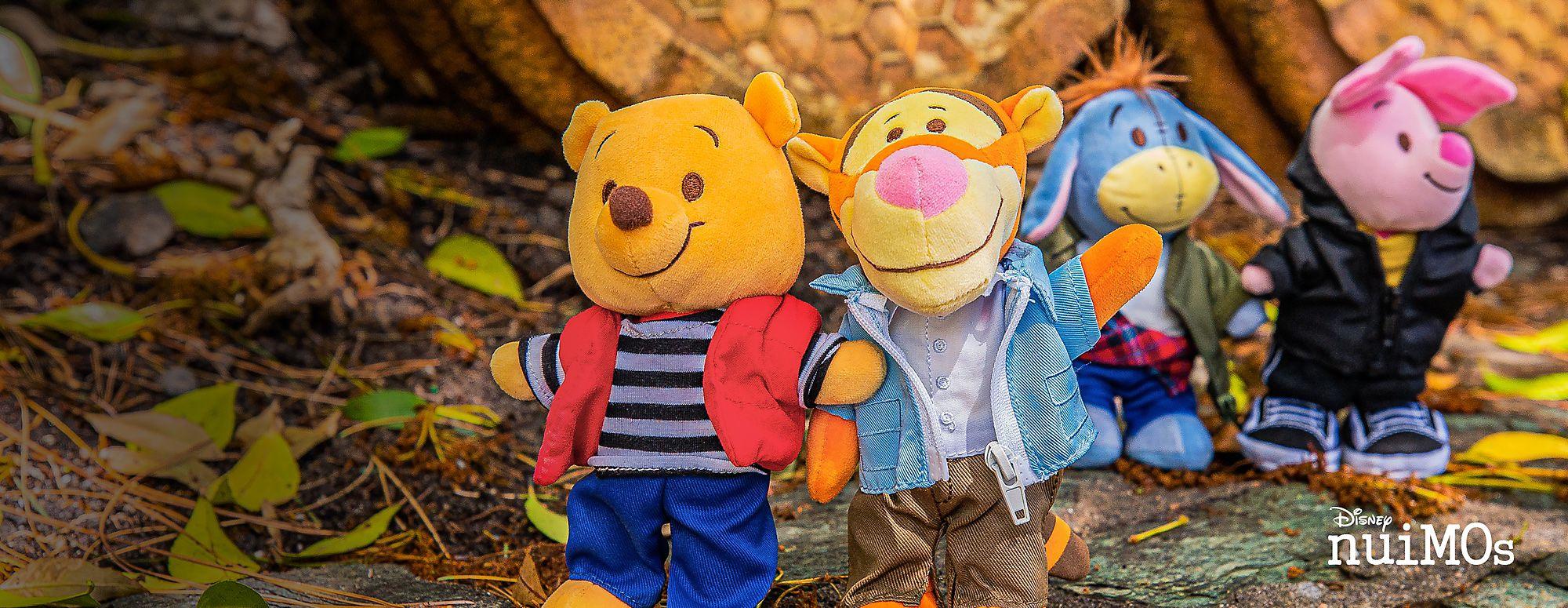 Nouveauté issue de la Forêt des rêves bleus Winnie l'Ourson et ses amis viennent de rejoindre la famille de peluches Disney nuiMOs ! VOIR LA COLLECTION
