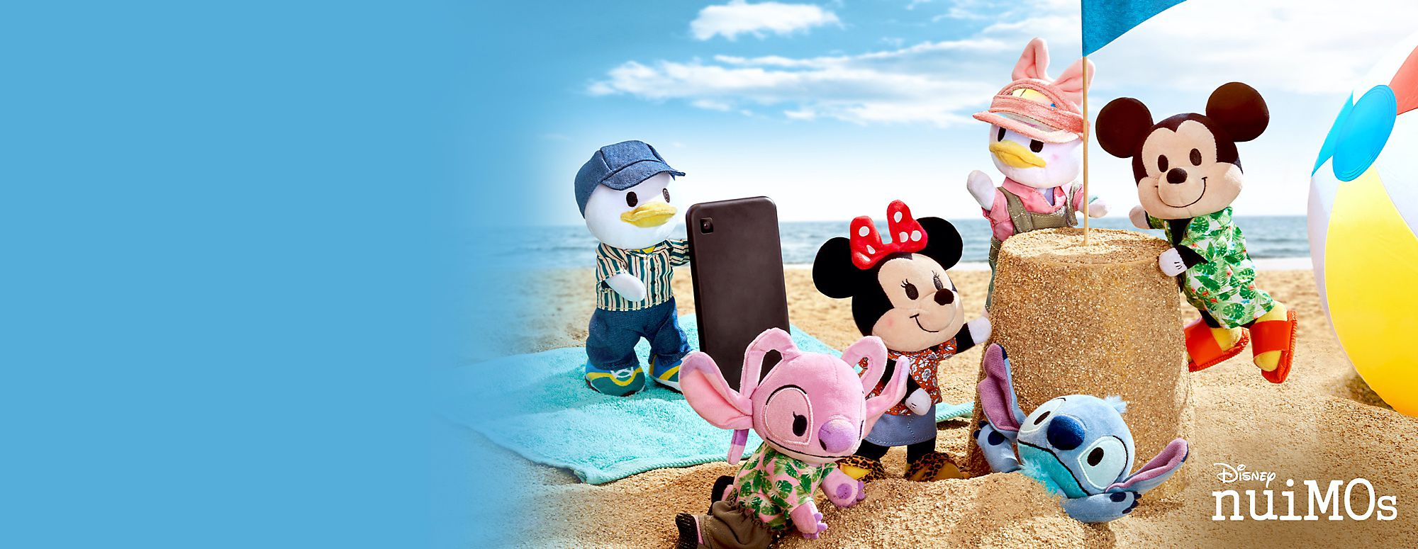 "Wave ""Hello"" to Summer Disney nuiMOs Soft Toy Styles! Style your Disney nuiMos with the latest collections inspired by the hottest fashions SHOP NOW"