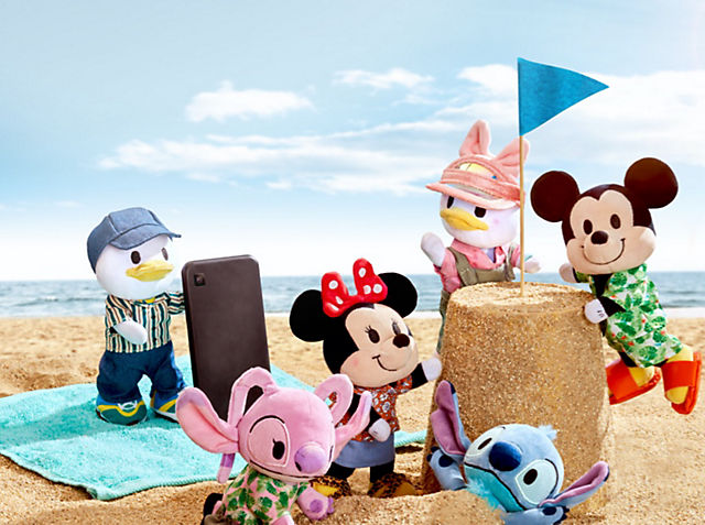 """Wave """"Hello"""" to Summer Disney nuiMOs Soft Toy Styles!  SHOP NOW"""