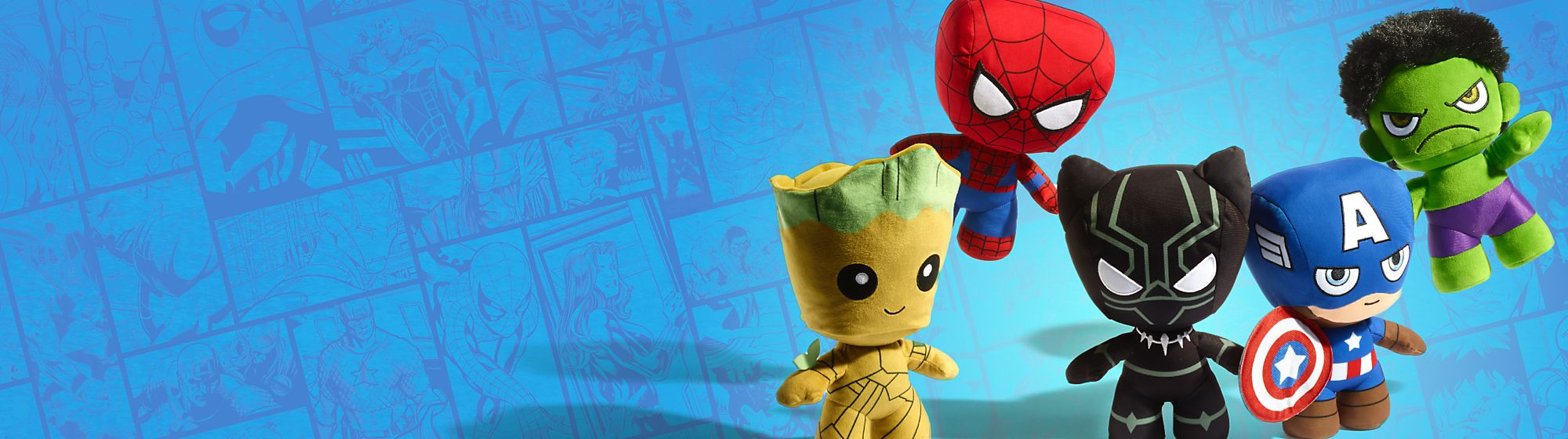 Marvel Toys Heroic playtime and epic adventures with our range of Marvel toys and action figures