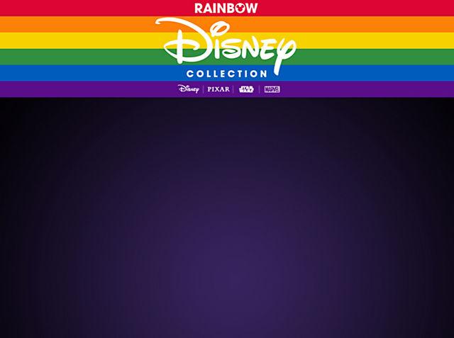 Collection Disney Rainbow Pour célébrer le Mois des fiertés 2021, Disney fait un don pour soutenir les communautés LGBTQ + VOIR LA COLLECTION