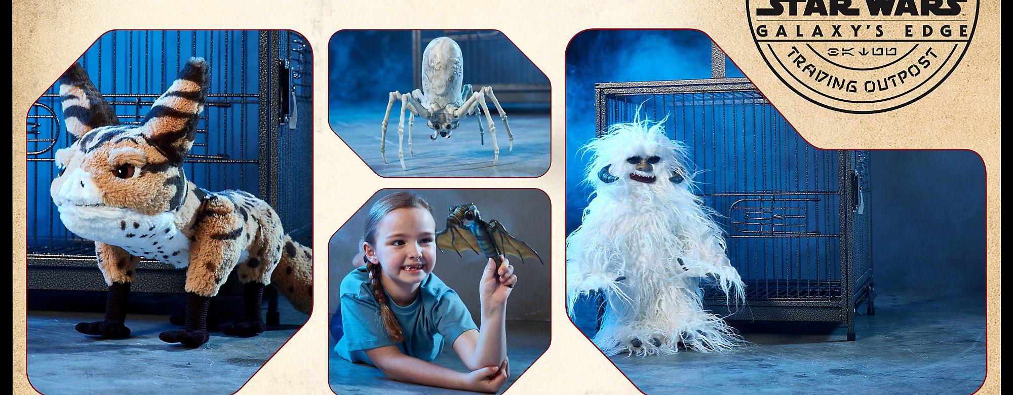 Creature Shop Entdecke die neugierigen Kreaturen und Critter - alle geben einzigartige Töne  von sich, und stecken in einer kostenlosen Geschenkbox JETZT KAUFEN